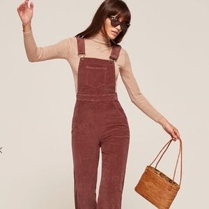 Reformation Rodeo Overalls